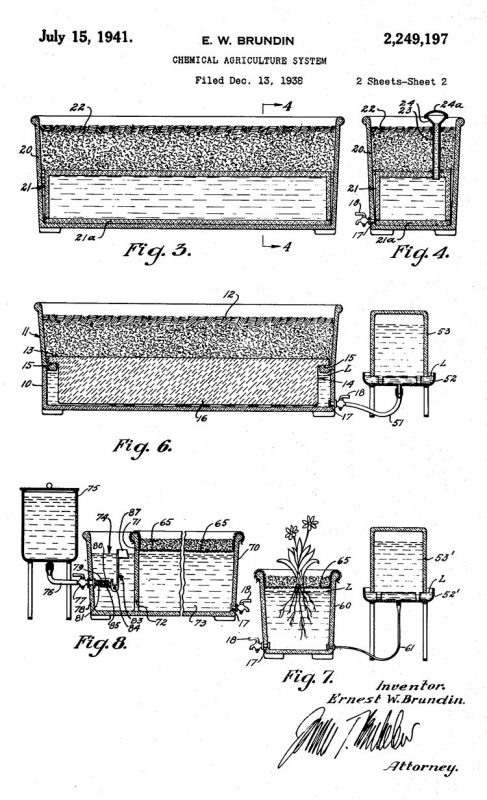 E.W. Brundin's Patented Chemical Agriculture System