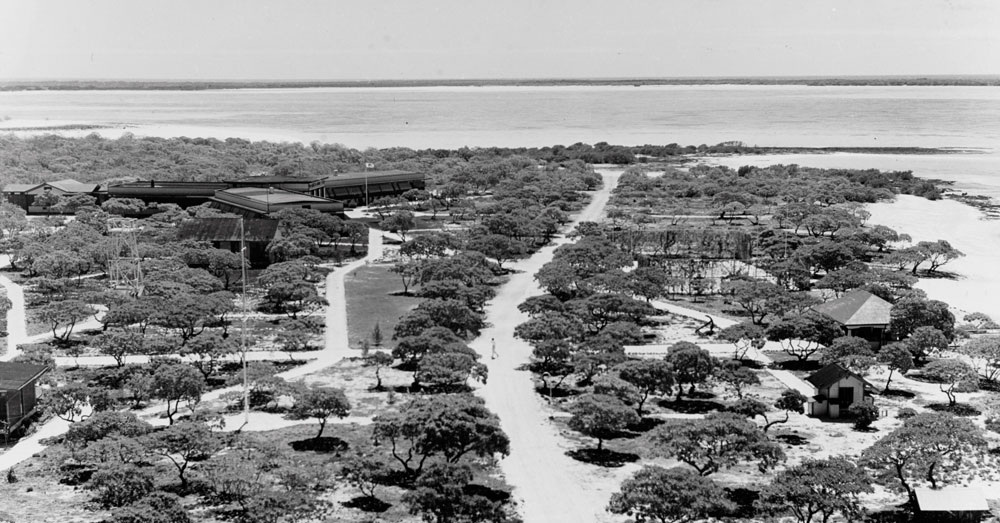 Pan-American Airlines Hotel on Wake Island (March 1940)